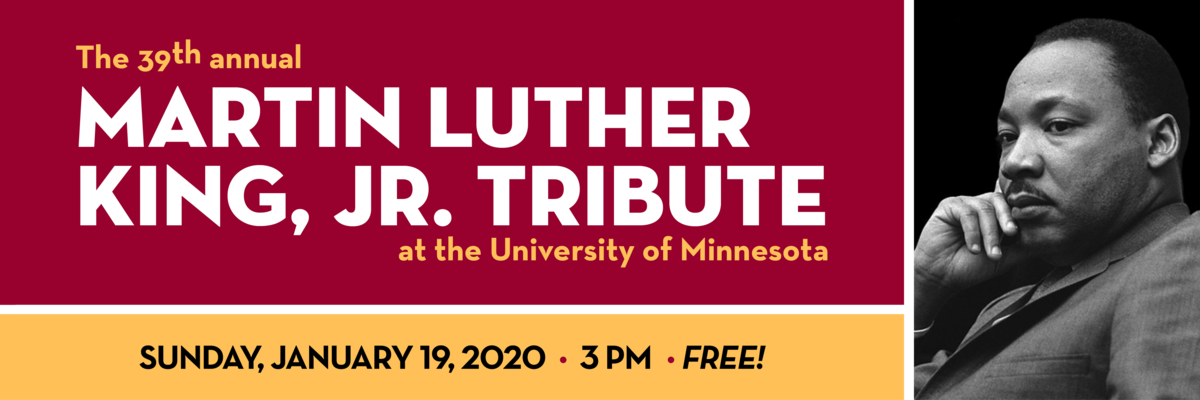 Martin Luther King, Jr. Tribute Concert on January 19, 2020